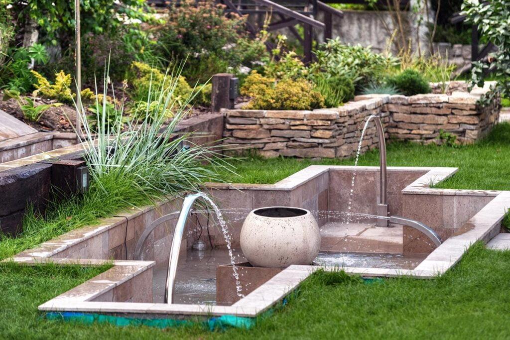 fotografia ogrodów i fontann