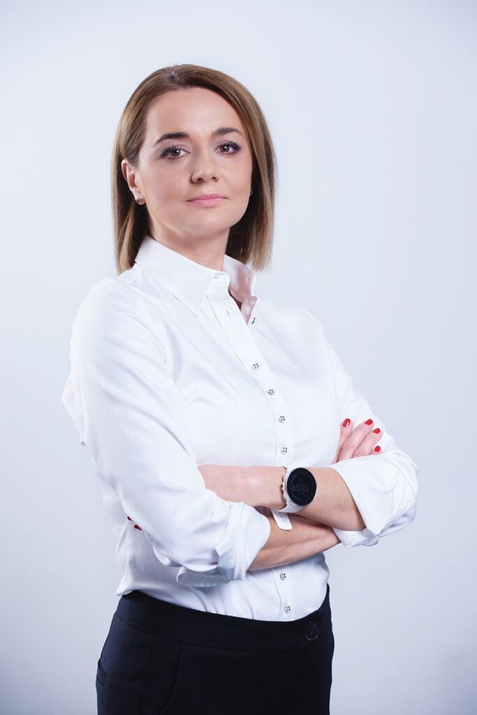 Portret biznesowy business woman