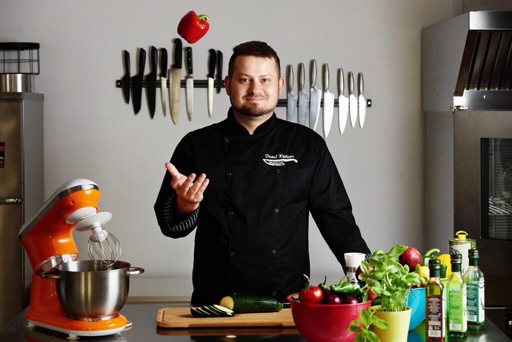 Sesja wizerunkowa dla warsztatów kulinarnych