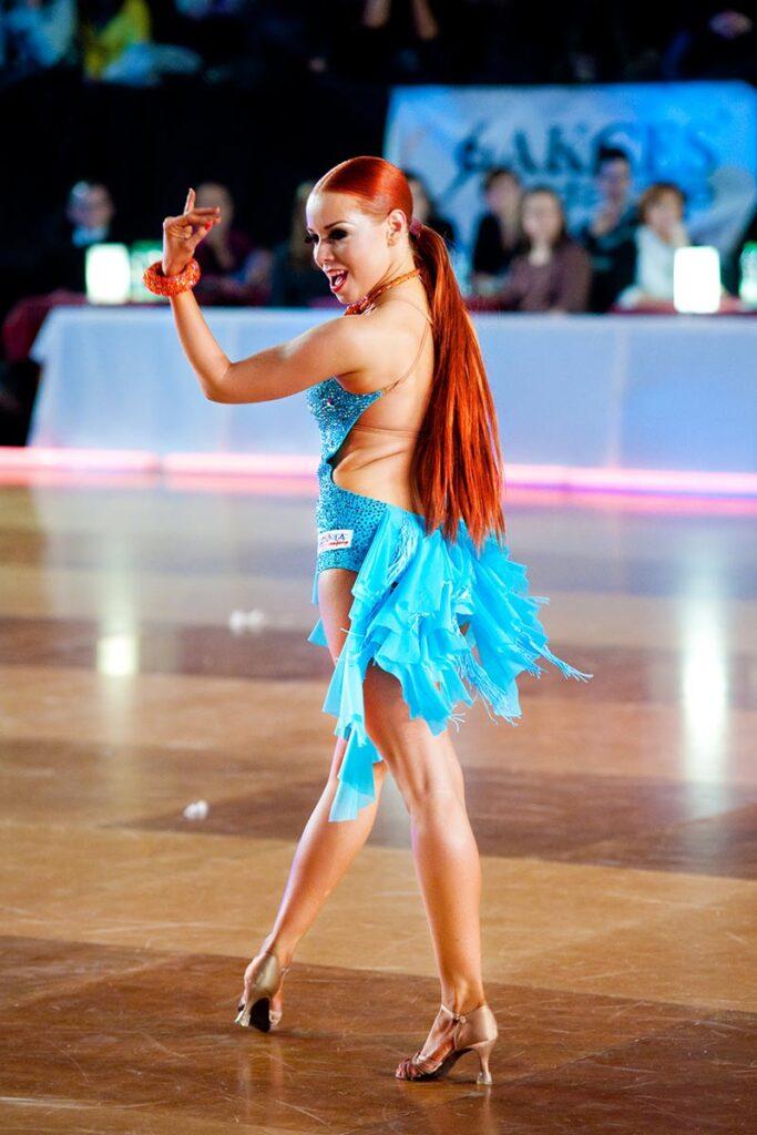 tancerka w hali wisła kraków